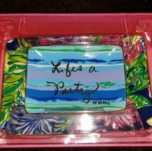 Lilly Pulitzer Trinket Tray Set